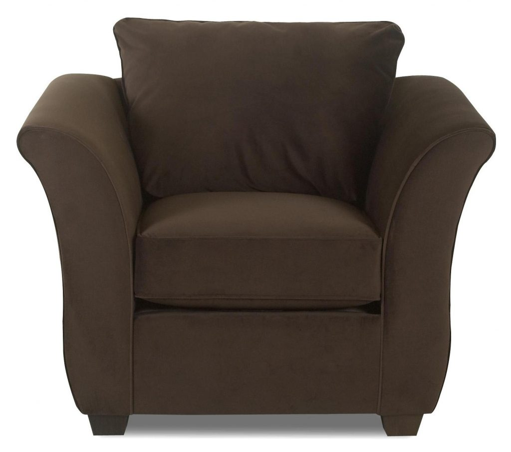 Klaussner Voodoo Upholstered Living Room Chair With Flared Arms