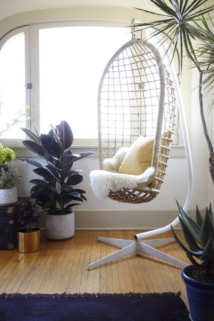 La Bungalow Makeover Living Room Pinterest Wicker Chairs
