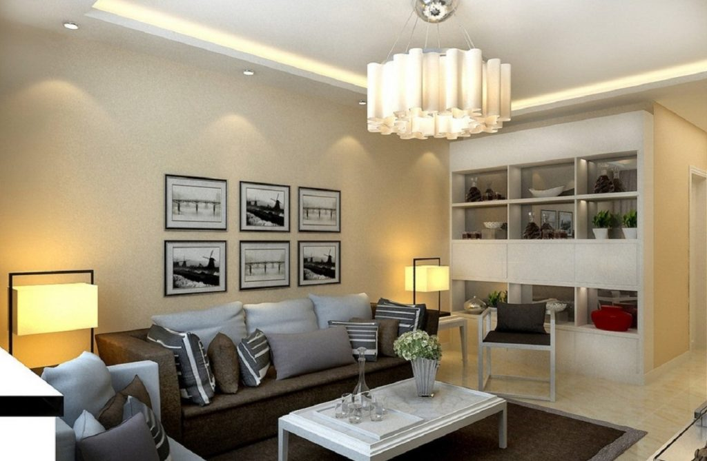 Living Room Ceiling Lamps Design For Comfort