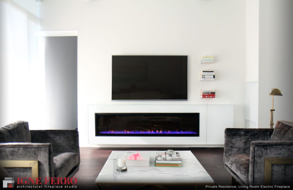 Living Room Contemporary Ideas Electric Fireplace Wall Mount With