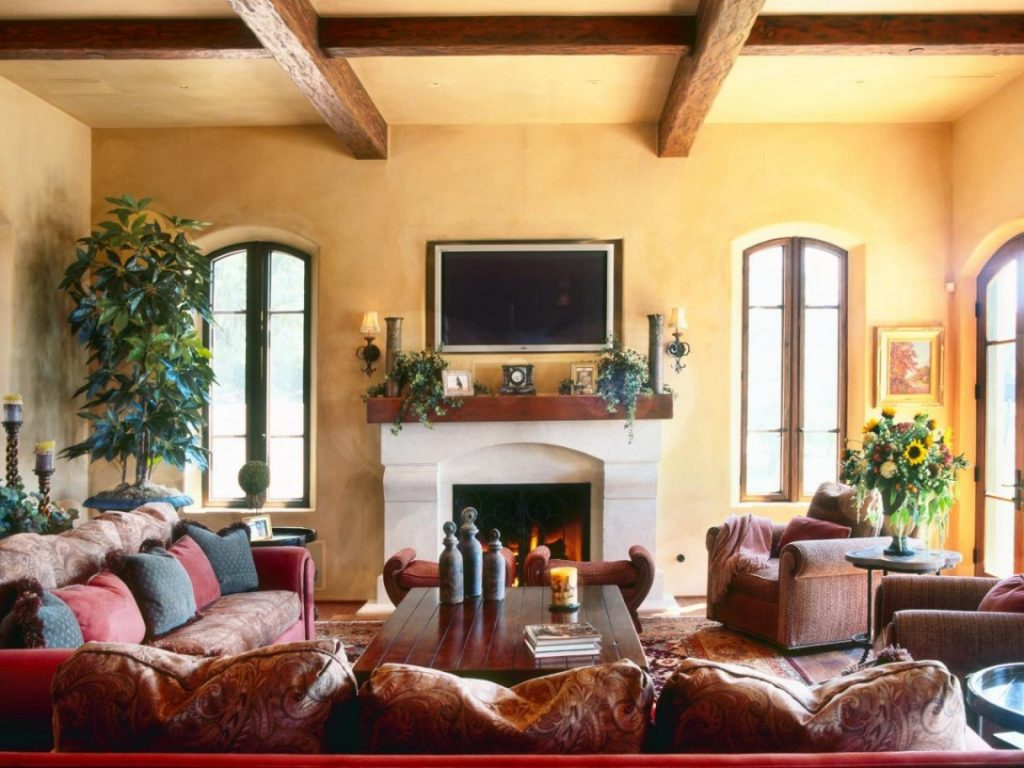 Living Room In 2017 Including Spanish Inspired Picture Style For