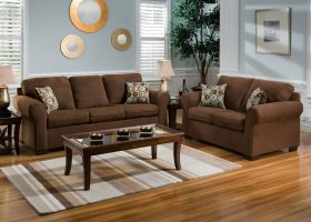 Living Room Ideas Chocolate Brown Couch