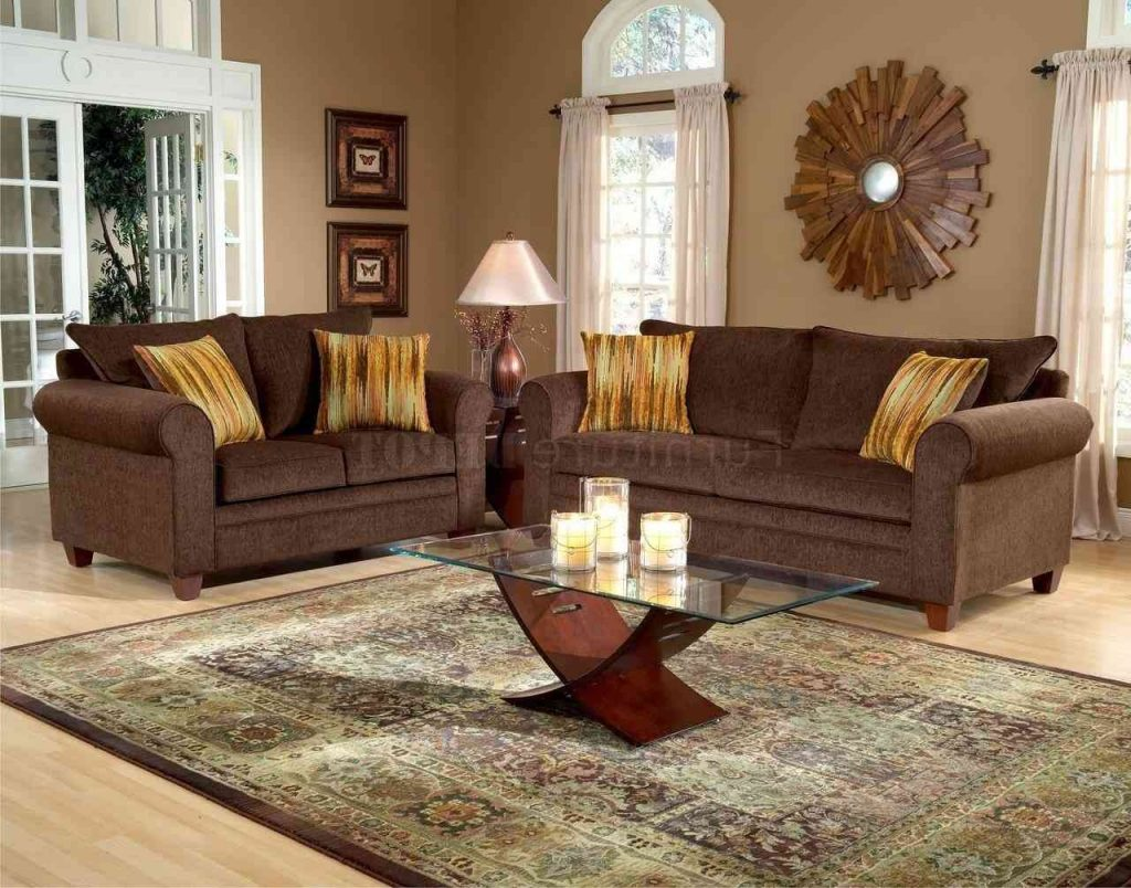 Livingroom Outstanding Dark Chocolate Brown Sofa Decorating Ideas