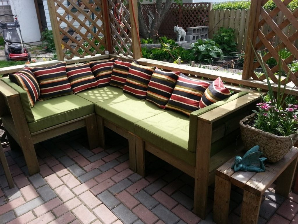 Lovely Homemade Patio Furniture Backyard Remodel Inspiration Top