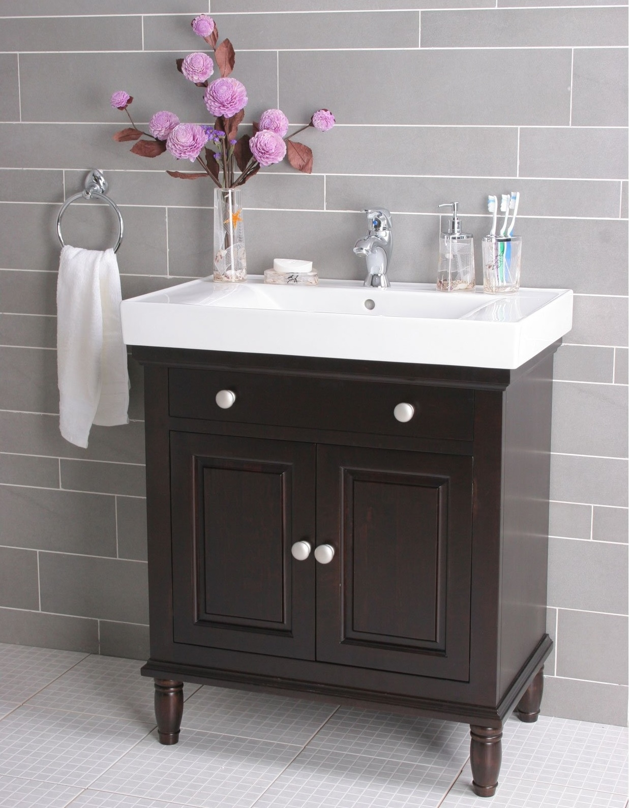 Lowes Bathroom Vanity And Sink In Contemporary Picture 7 Of 50 Layjao