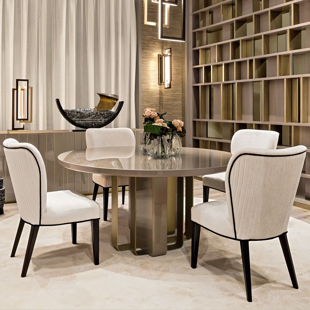 Luxury Italian Designer Dining Table And Chairs Set Juliettes