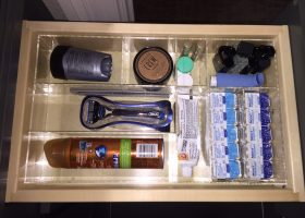 Bathroom Drawer Organizer