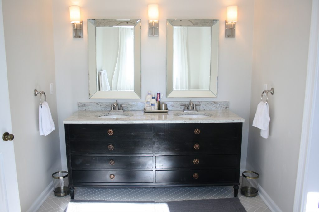 Master Bathroom Details And Sources What Emily Does