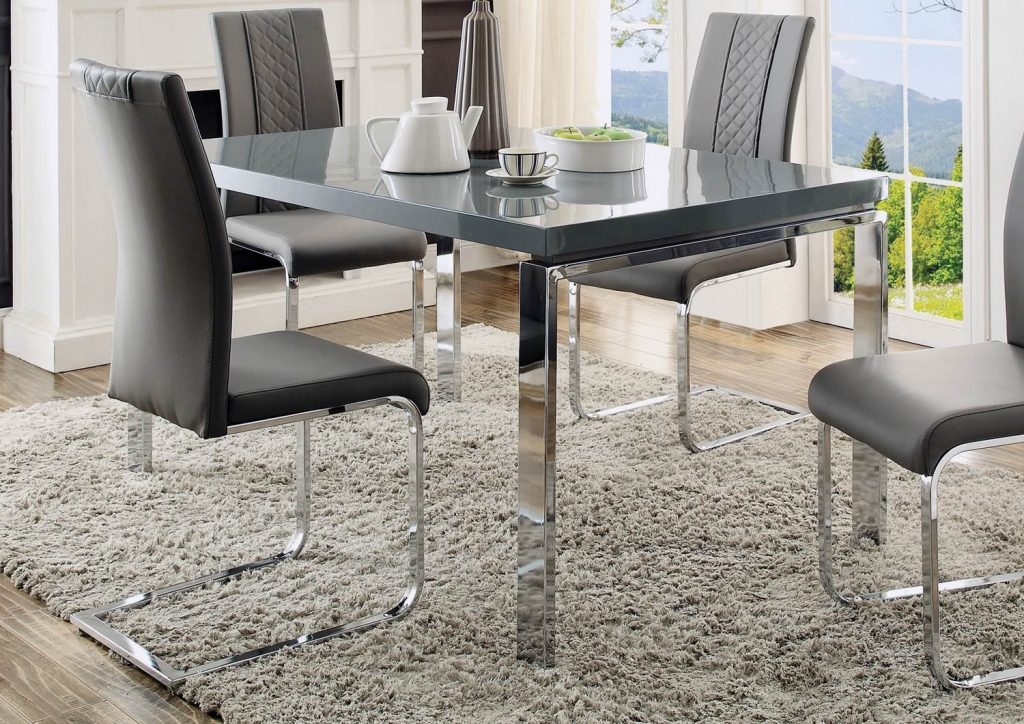 Miami Grey Dining Table For 27994 Furnitureusa