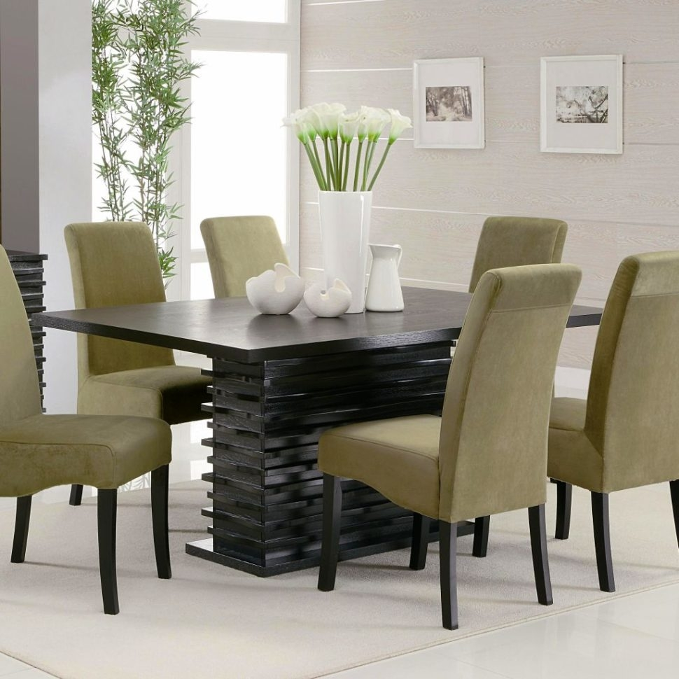 Minimalist Dining Room Modern Dining Table Chairs Designs Designer