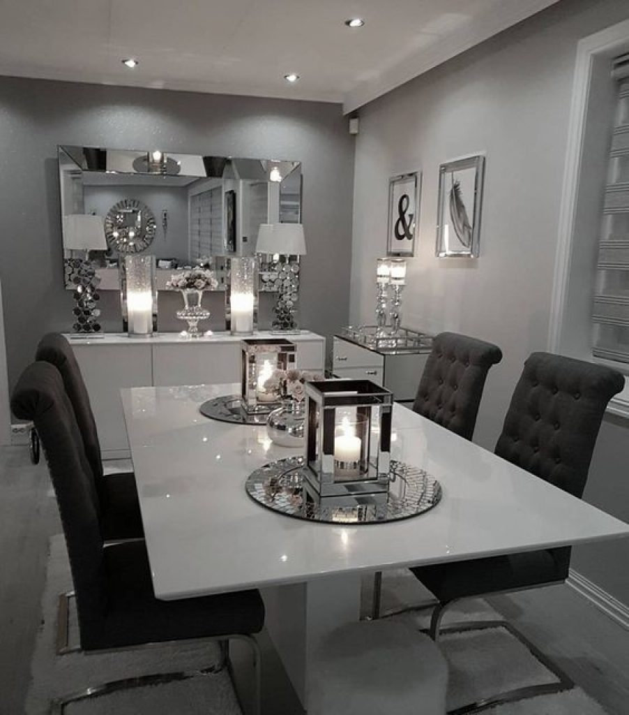 Modern Dining Room Decor Floresvaesco