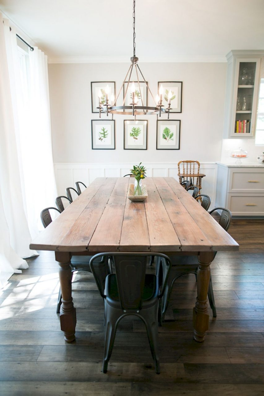 Modern Farmhouse Dining Room Decor Ideas 10 Roomaniac