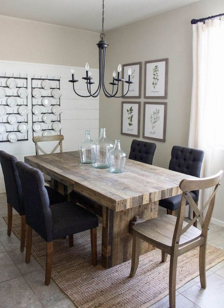 Modern Farmhouse Dining Room Sets Farmhouse Dining Room Sets Ideas
