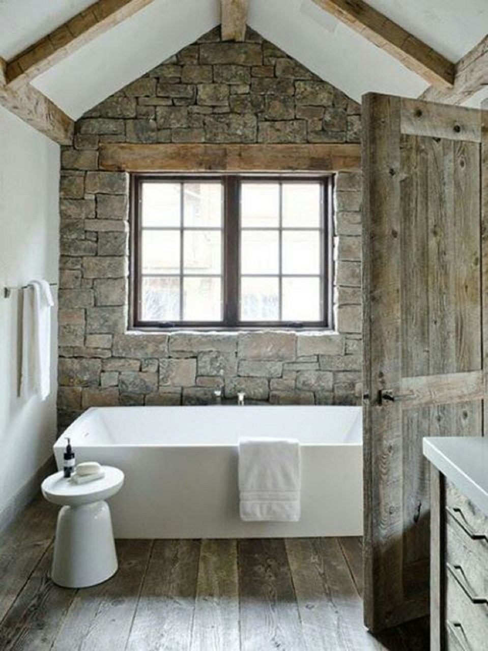 Modern Rustic Bathroom Design Of Bathroom Extraordinary And Awesome