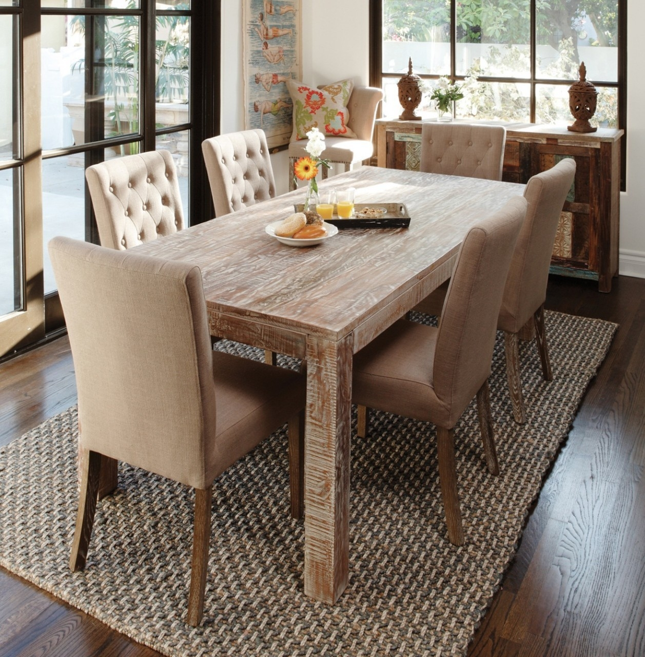 Modren Dining Dining Room Tables Wood And Rustic Dining Room Table O Layjao