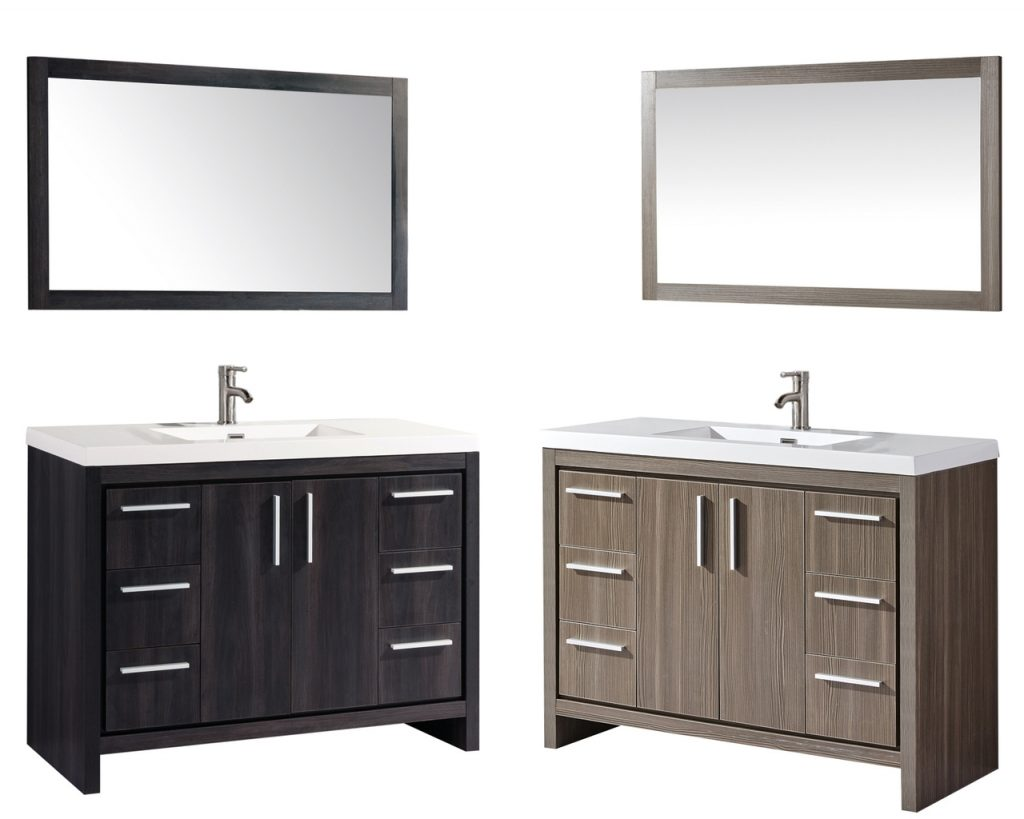 Monumental Bathroom Vanity Miami 48 Single Sink Set Mtd Vanities