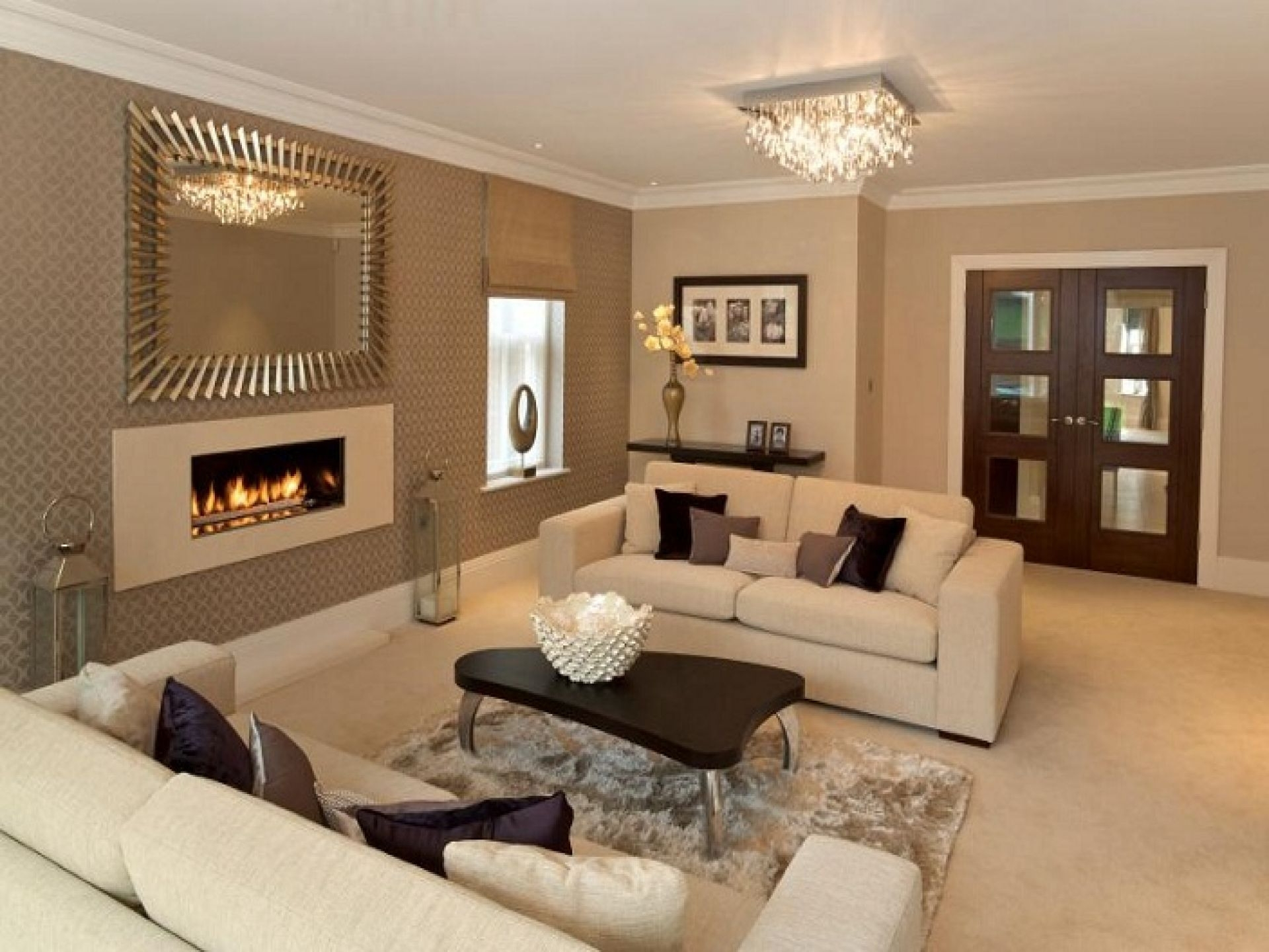 More 5 Great Brown Living Room Paint Ideas Home Design Interior Layjao