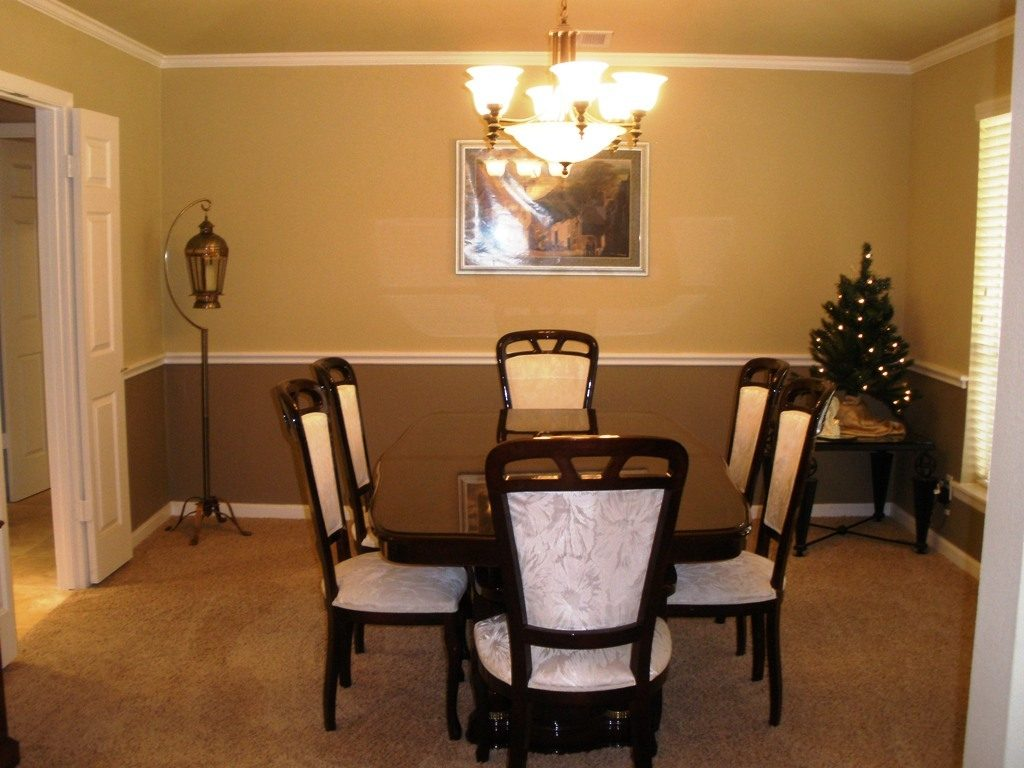 More 5 Nice Dining Room Paint Ideas With Chair Rail Home Design