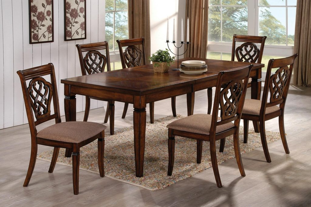 Narrow Dining Table For Small Spaces Rectangular Sizes Eat In