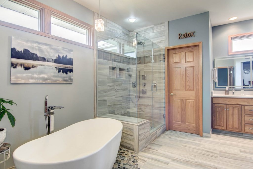 New Leaf Remodeling Llc Bathroom Gallery Rockford Il