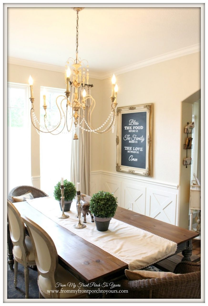 Nice French Country Dining Room 22 Esescatrina