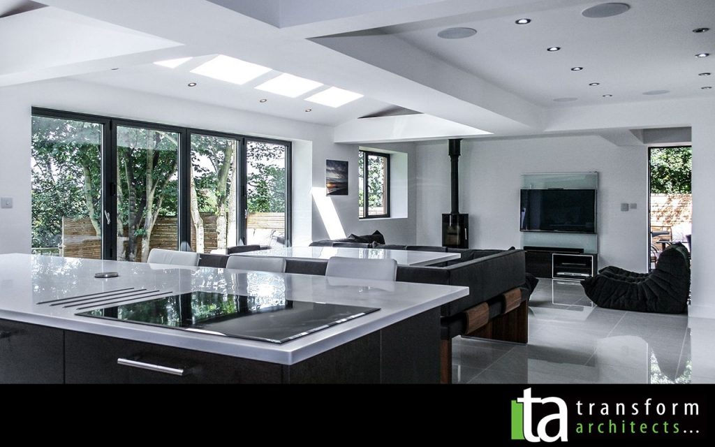 North Facing Kitchen And Living Room Extension Ideas Google Search
