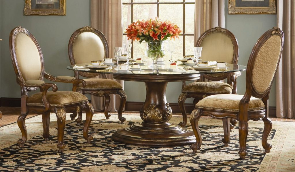 Opulent Traditional Style Formal Dining Room Furniture Set Dining