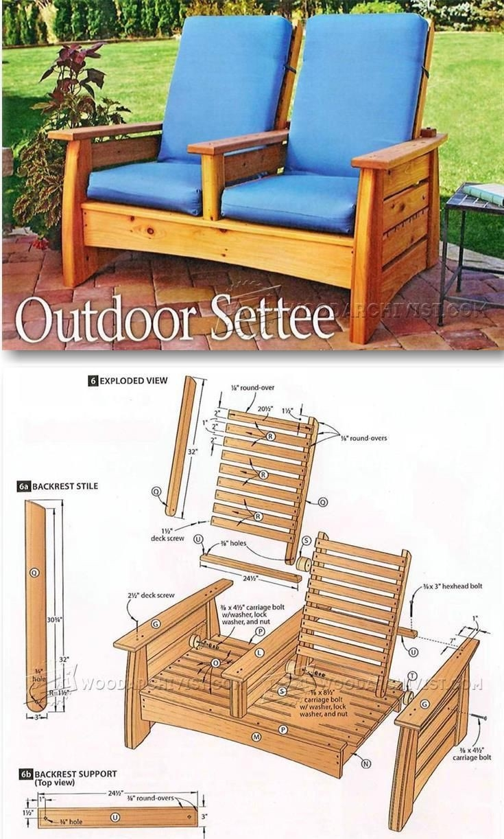 Outdoor Furniture Fabulous Outdoor Furniture Building Plans And