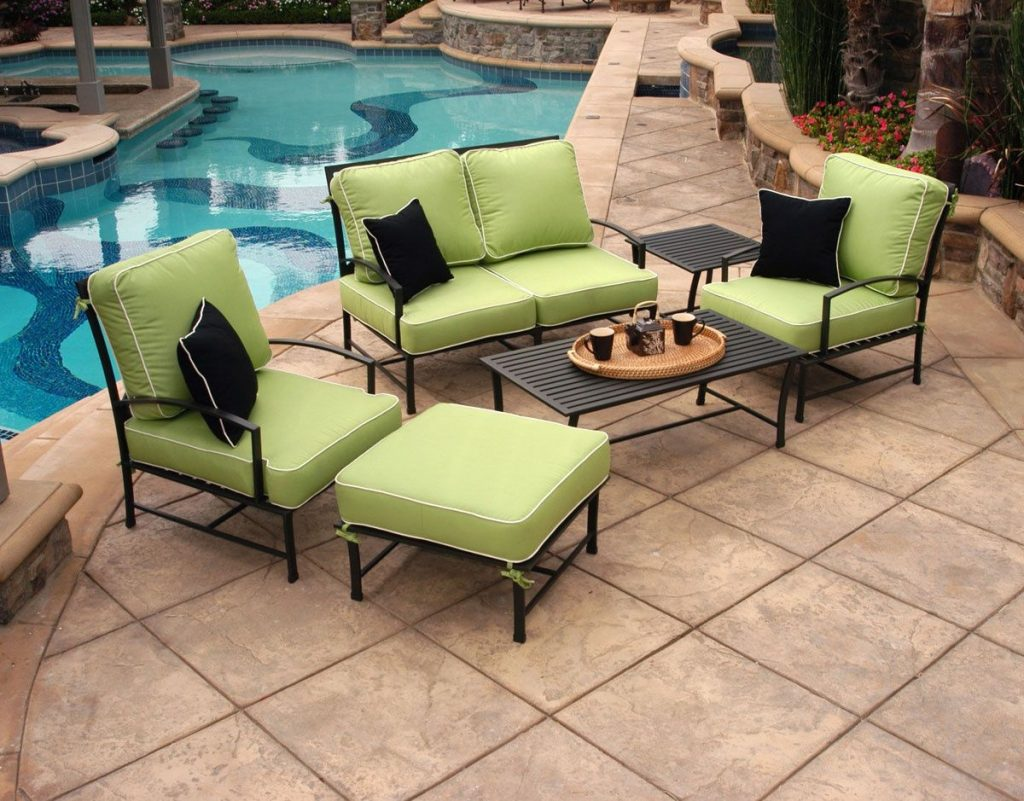 Outdoor Furniture With Sunbrella Fabric Best Way To Paint