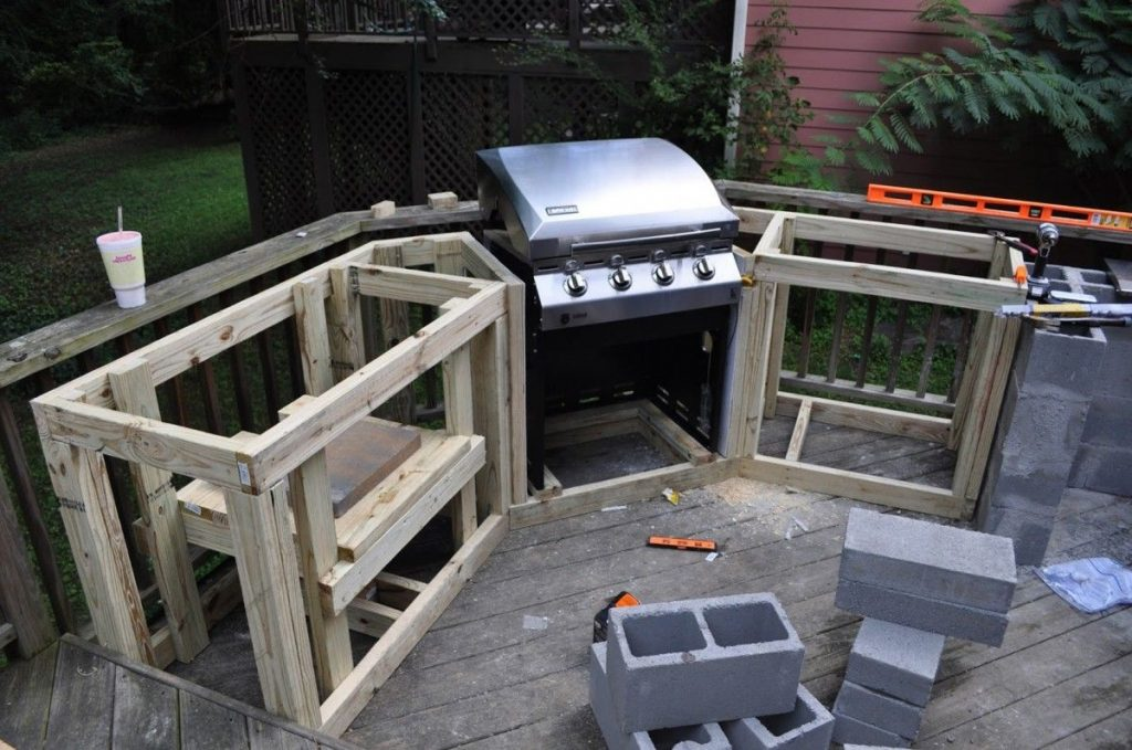 Outdoor Kitchen Plans Featured In This Outdoor Kitchen Design With