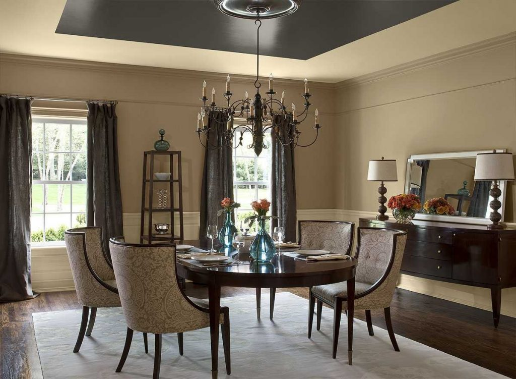 Outstanding Dining Room Paint Colors With Best Design Options For