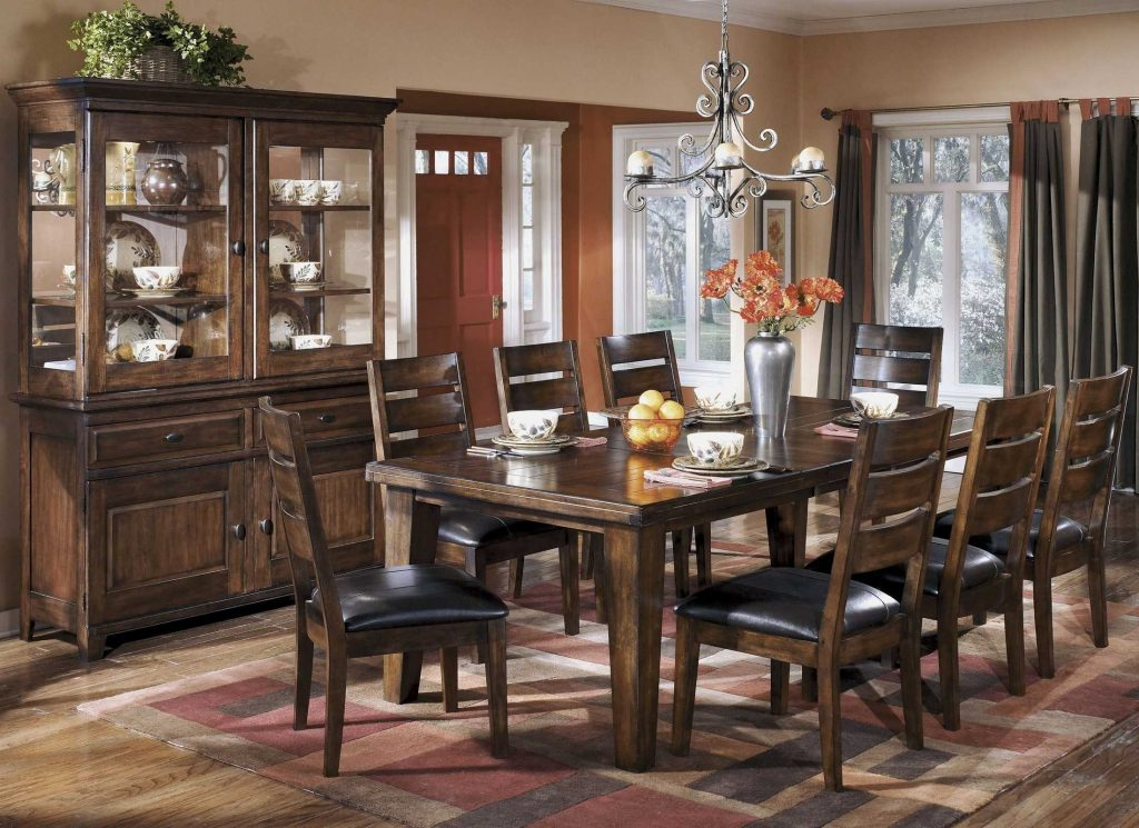Outstanding Dining Room Set With China Cabinet Collection And Sets