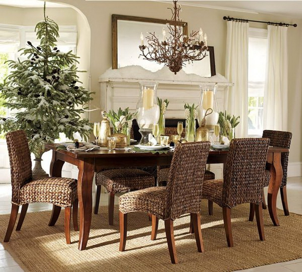 Outstanding Small Modern Dining Room Decorating Ideas Pics
