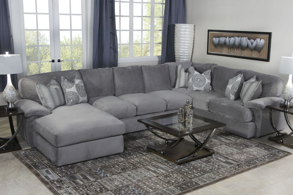 Paint Colors For Grey Couch Gray Sectional Sofa Living Room Chairs