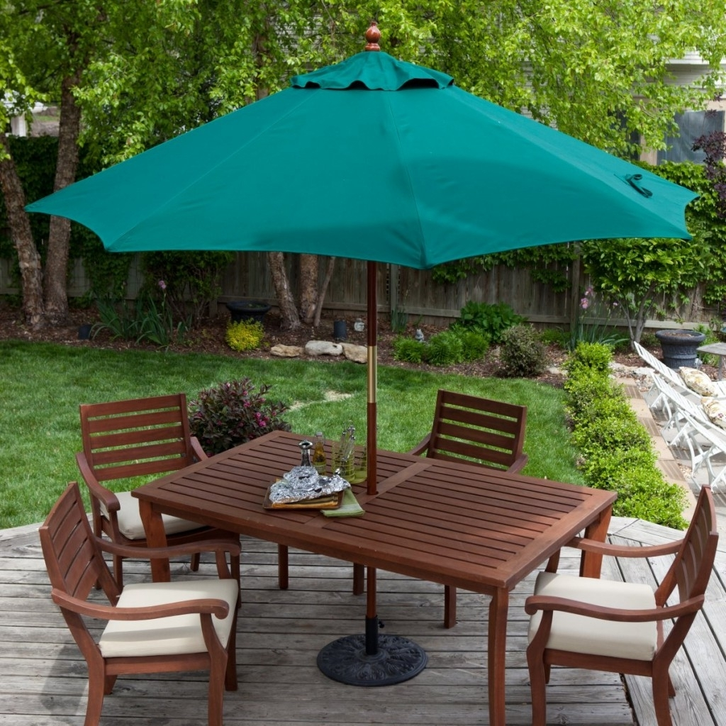 Patio Furniture With Umbrella Color Life On The Move Decorating