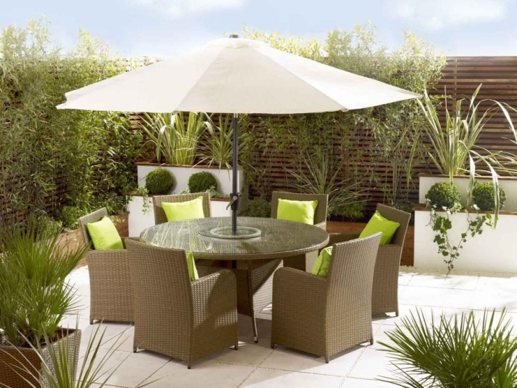 Patio Furniture With Umbrella For Sunny Summer Days Wilson Home Ideas