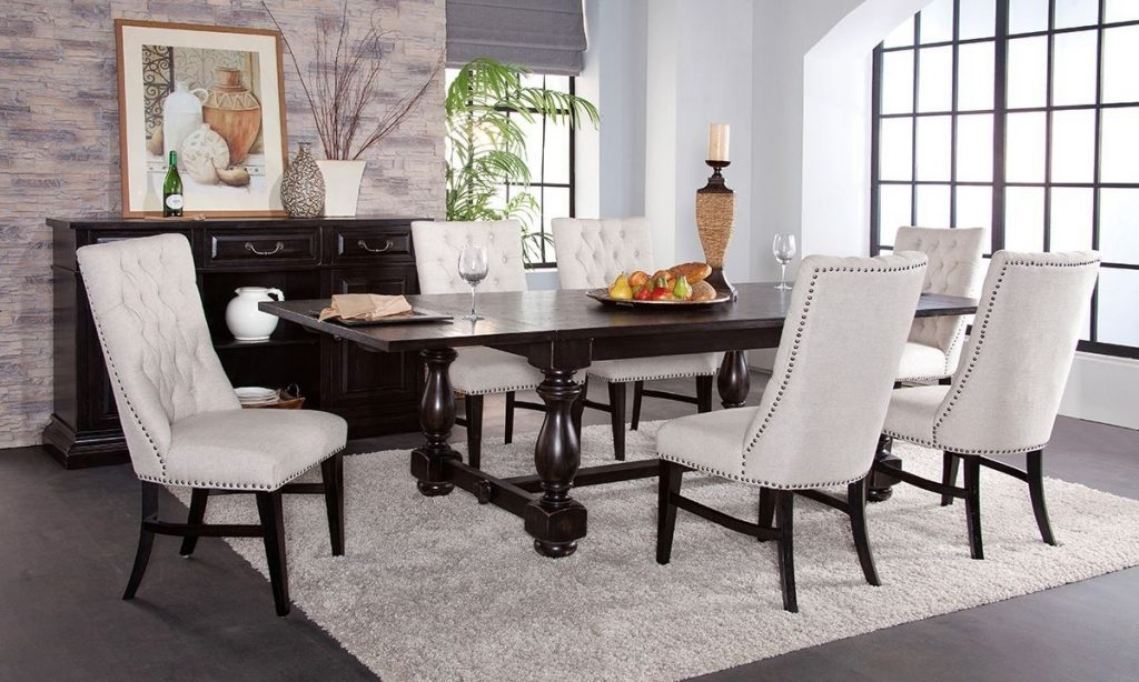 Picture Of Mill River Trestle Table Dining Set Furniture
