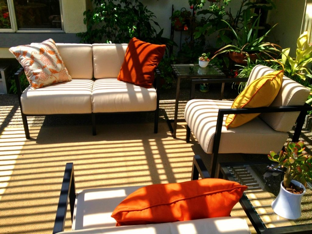 Popular Of Sunbrella Patio Chair Cushions Patio Furniture With