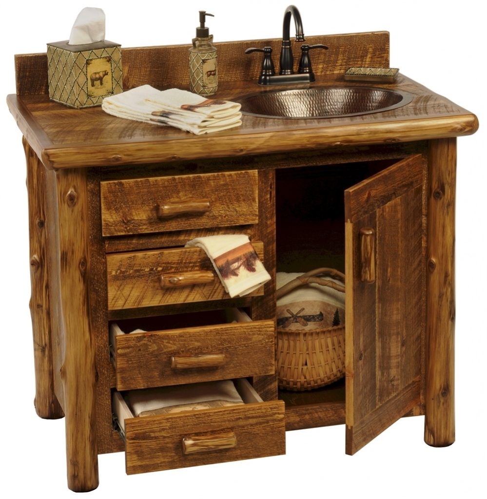 Presenting Rustic Bathroom Vanities In Your House The New Way Home