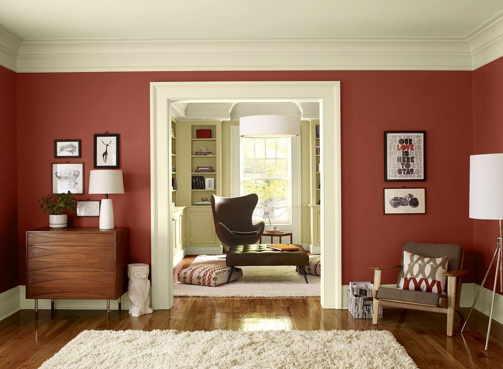Red Colors Scheme Living Room Paint Colors Ideas Home Furniture