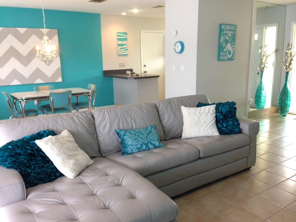 Remarkable Decoration Teal And Grey Living Room Ideas About With