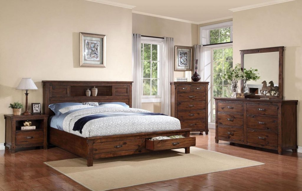 Resort Bedroom Set Walker Furniture Las Vegas