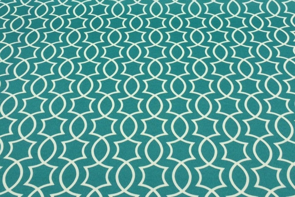 Richloom Solarium Titan Peacock Trellis Outdoor Furniture Fabric