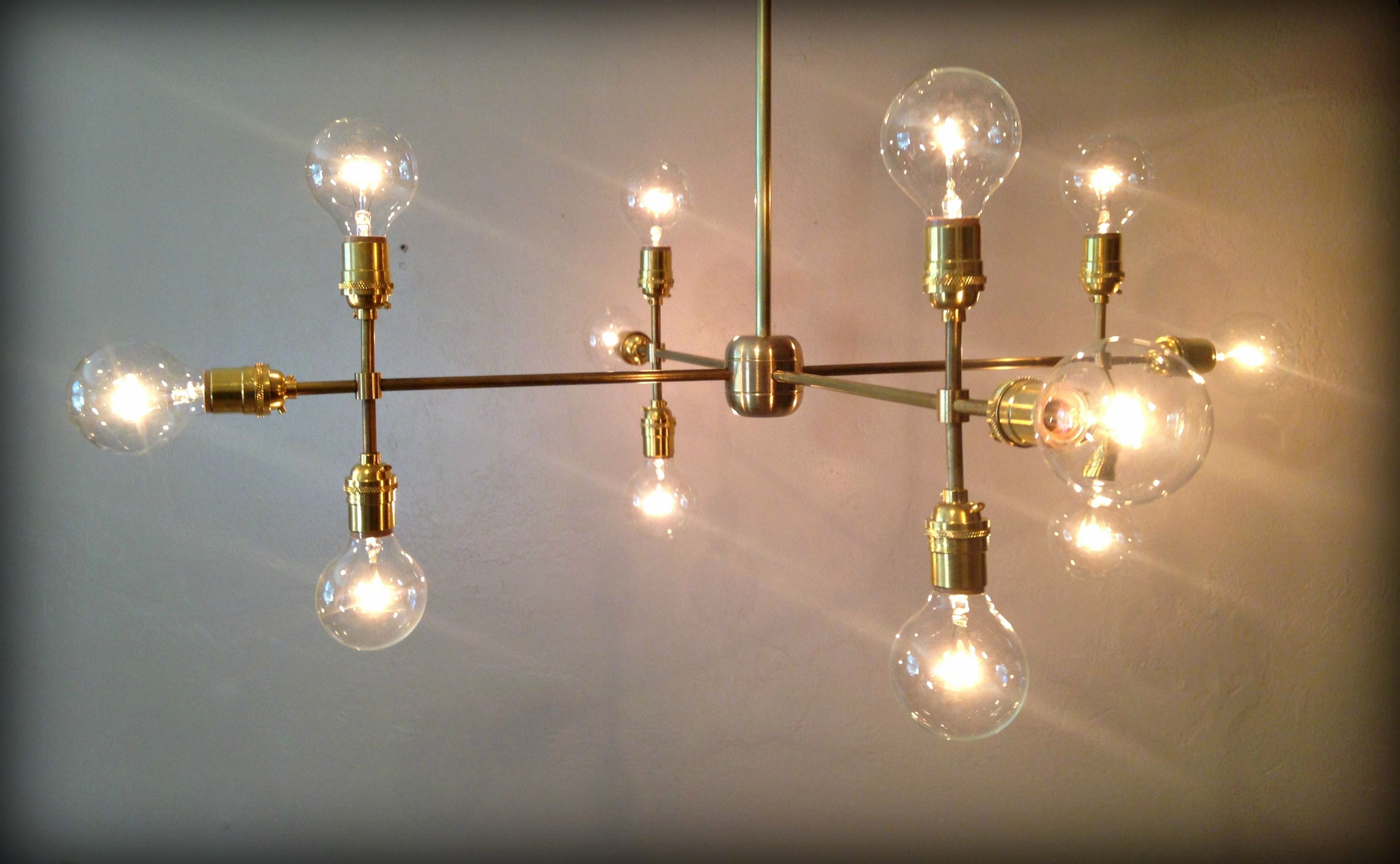 Round Chandelier Bulbs With Edison