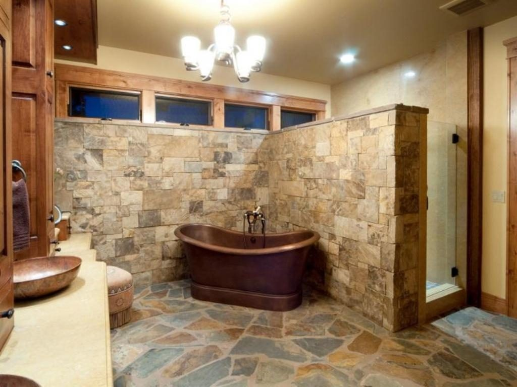 Rustic Bathroom Ideas Master New Home Design Rustic Bathroom Ideas