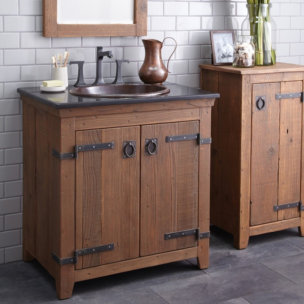 Rustic Bathroom Vanities Ideas For Interesting Rural Look Home