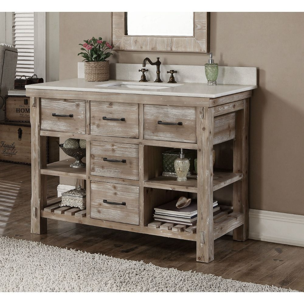 Rustic Bathroom Vanity For Best Vanities Top Ideas Inspirations 15
