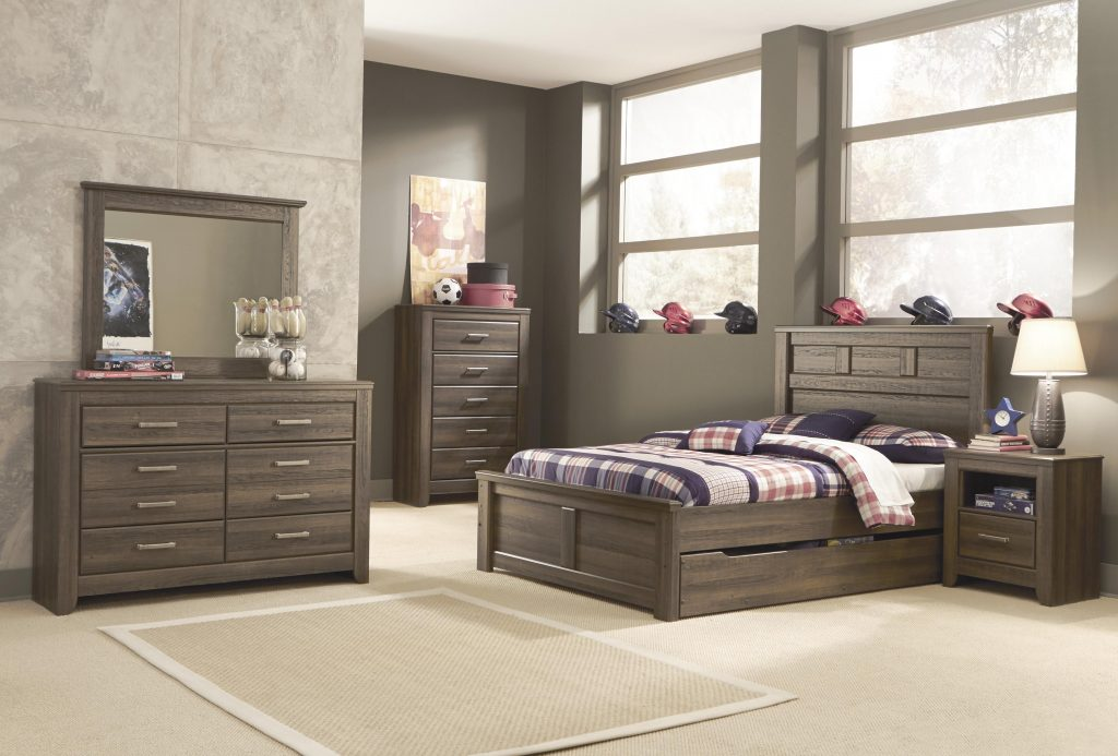 Security Full Size Storage Bedroom Sets King With Brinley Cherry Set