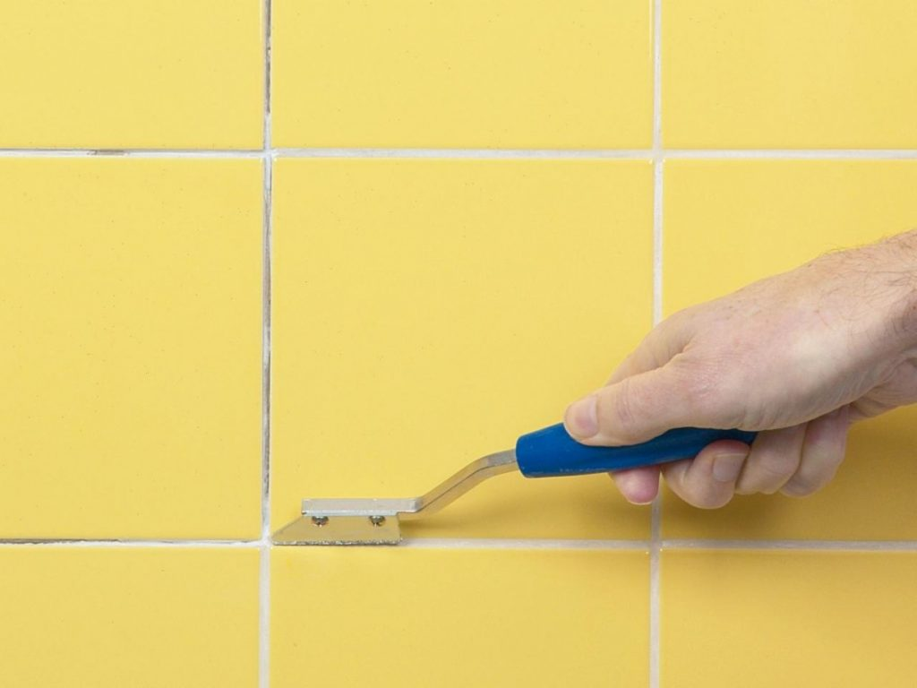 Seven How To Fix Bathroom Tile Grout That Had Gone Way Too Far How