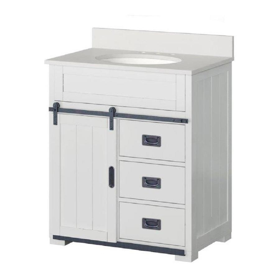 Shop Bathroom Vanities With Tops At Lowes